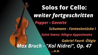 Music school cello